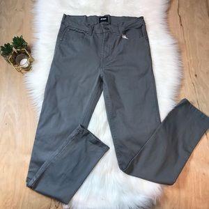 Hudson Gray Straight Leg Jeans #805